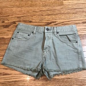 Brand New Free People Light green shorts size 27